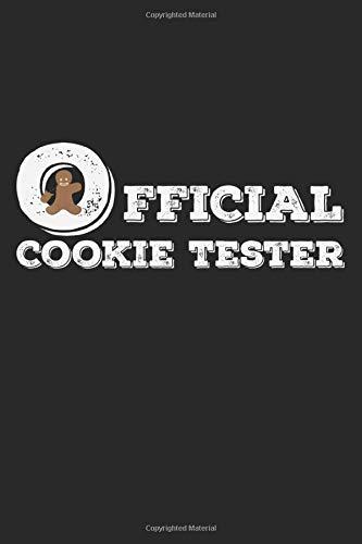 Official Cookie Tester: A5 Notizbuch, 120 Seiten gepunktet, Kekse Backen Plätzchen Weihnachten Weihnachtsmann Christkind Nikolaus Xmas Advent