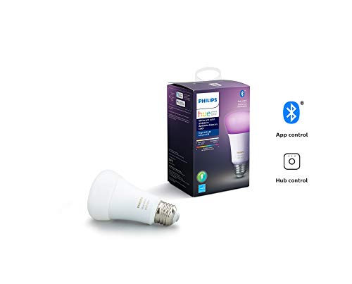 Philips Hue White & Color LED Smart GU10 Bulb, Bluetooth & Zigbee compatible (Hue Hub Optional), Works with Alexa & Google Assistant – A Certified for Humans Device