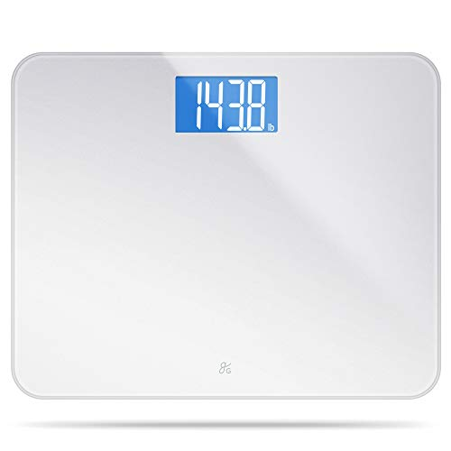 Greater Goods High Capacity, Digital Bathroom Scale | Ultra Wide, Extra Durable Platform Measures Up to 440 Pounds | Large LCD Display is Easier to Read and 4 High Precision Sensors