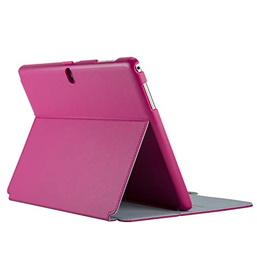 Speck Stylefolio Tablet Tasche Samsung Galaxy Note Pro 12.2 fuchsia pink nickel grau 72392-B920