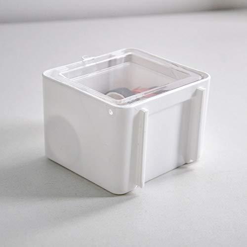 PowerBH Caja de almacenamiento de cinta Papelería de escritorio Etiqueta adhesiva Papelería de cinta Caja de almacenamiento organizadora