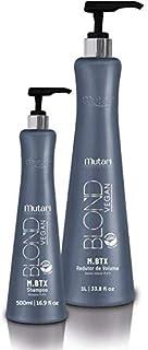Kit Progressiva Mutari Blond Vegan M.BTX Shampoo500ml+Redutor1Litro