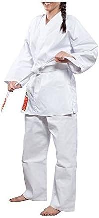 Hayashi Karateanzug HEIAN WKF, Unisex, Erwachsene, Weiß, 150 cm B000IZ21Y0   | Attraktives Aussehen