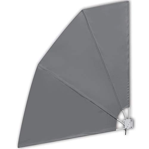 vidaXL -   Balkonfächer Grau