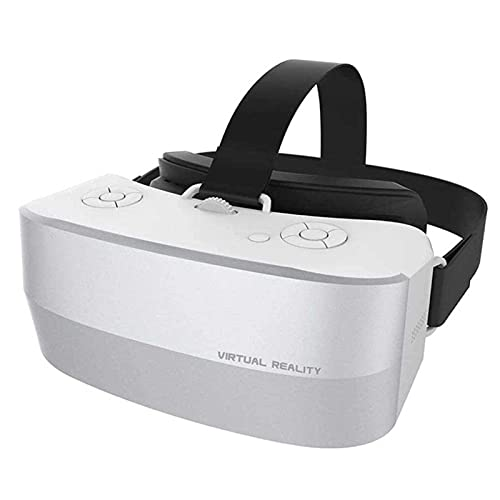 Adesign Auriculares VR 3D, Caja de Realidad Virtual de Gafas VR 3D con Lente Ajustable y Correa cómoda para películas y Juegos en 3D, Compatible con iOS, Android