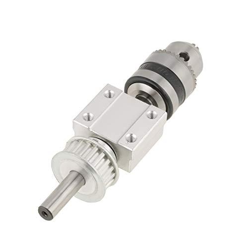 Husillo sin alimentación, conveniente para usar, capacidad de portabrocas, husillo de prensa de taladro de 1,5-10 mm, velocidad nominal de 7000 rpm para molinillo de mesa de prensa de