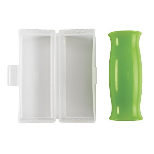 OXO 1062036 Good Grips Silicone Garlic Peeler with StayClean Storage CaseClear1EA