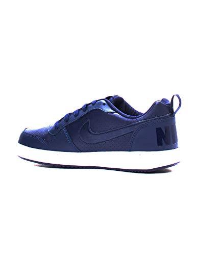 Nike Court Borough Low (GS), Zapatillas de Baloncesto Hombre, Multicolor (Obsidian/Obsidian/White 403), 40 EU