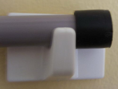 Pair of self adhesive hooks- For use with Holland Plastics blinds