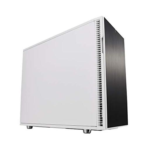 Fractal Design Define R6 USB-C Escritorio Blanco - Caja de ordenador (Escritorio, PC, Aluminio, Acero, Blanco, ATX,EATX… 1