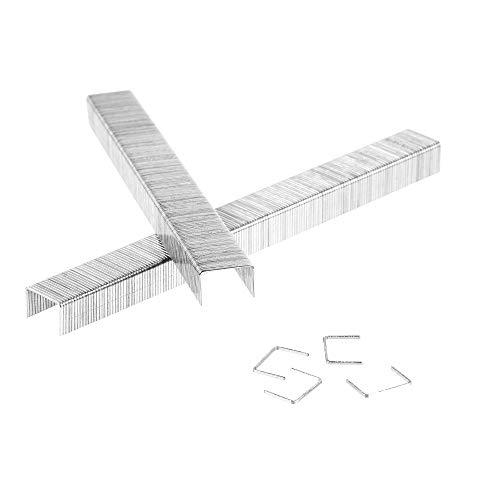 5000 Tackerklammern - Typ 53 - Länge: 8mm, Breite: 11,4 mm - Maße 8/11,4 - verzinkt/Heftklammern/Tacker-Klammern