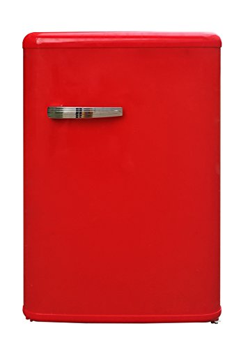 frigorifero rosso vintage Master CLASS100RO Frigorifero da tavolo Frigo Tavolo Classe Energetica A+ 135 Litri