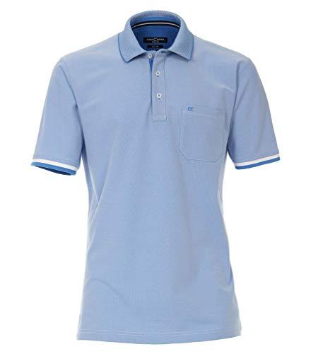 Casa Moda - Herren Poloshirt (903443400), Größe:XL, Farbe:Blau (102)