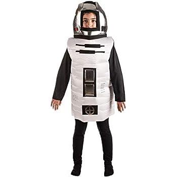 Disfraz de Robot (Talla 7-9 a?os): Amazon.es: Juguetes y juegos