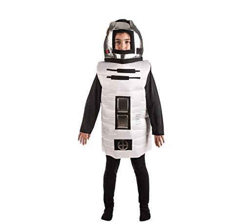 El Rey del Carnaval Disfraz de Robot Galáctico para niños