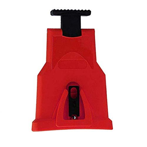 BIlinli - Kettensägenschärfer in Rot, Größe 21 * 14 * 3,5 cm