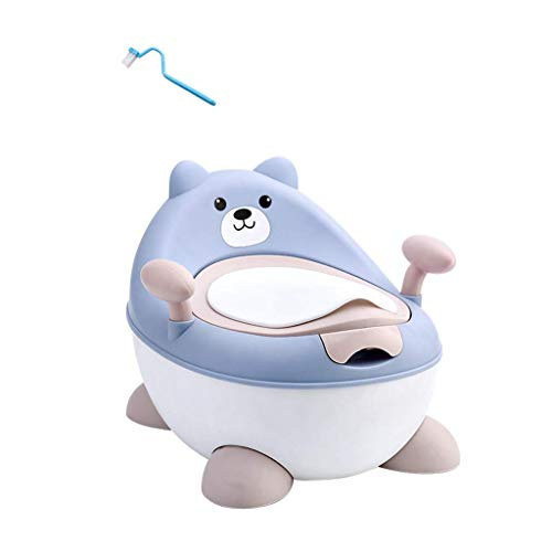 Urinal Potty Chair, Children's Potty, Detachable, Easy to Clean, with Cover, to Prevent Odor Escape, Comfortable Back + armrest + PU Soft Cushion, give Your Baby The Best Care