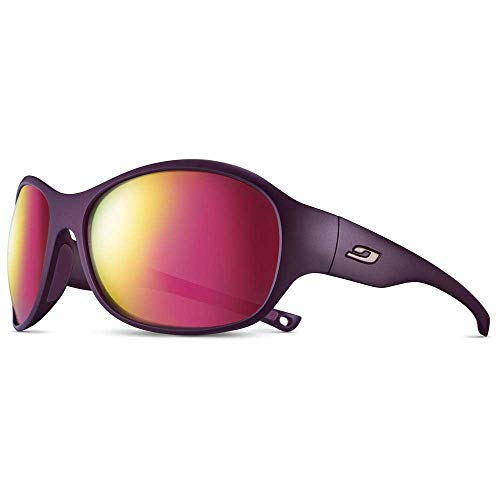 Julbo Island Sonnenbrille für Damen, Pflaume/Rosa, Einheitsgröße