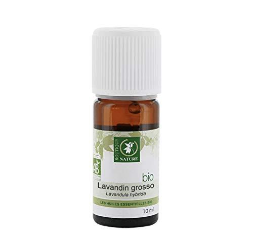 Boutique Nature - Huile Essentielle - Lavandin Grosso BIO - Flacon de 10 ml