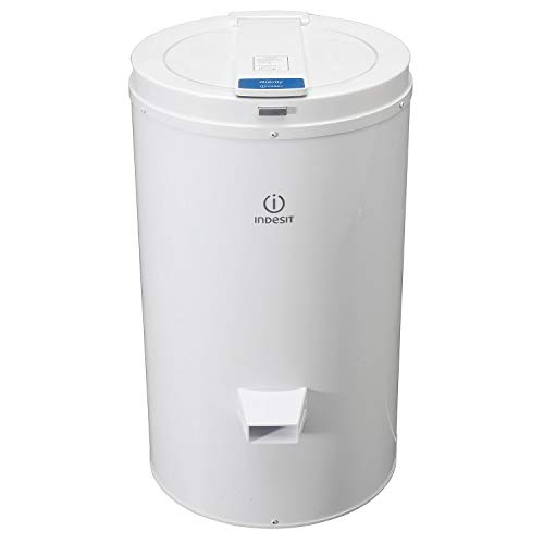 Indesit NISDG428 4kg Freestanding Spin Dryer With Gravity Drain - White