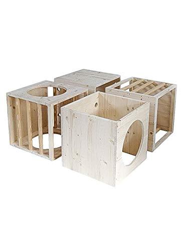 Conjunto de 4 Cubos Pikler