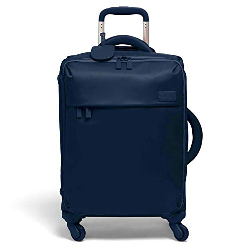 Lipault - Original Plume Spinner 55/20 Luggage - Carry-On Rolling Bag for Women - Navy