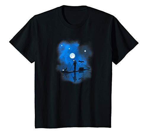 Niños Barco de pescadores en China Camiseta