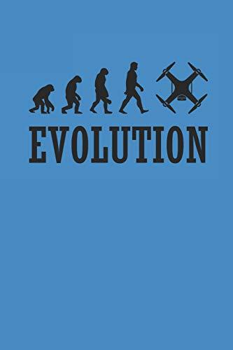 EVOLUTION: DROHNEN NOTIZBUCH  Drones Notebook Drone Journal 6x9 squared kariert