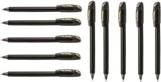 Pentel Energel - 0.7mm - Roller Gel Pen Set - Pack of 10 (Black)