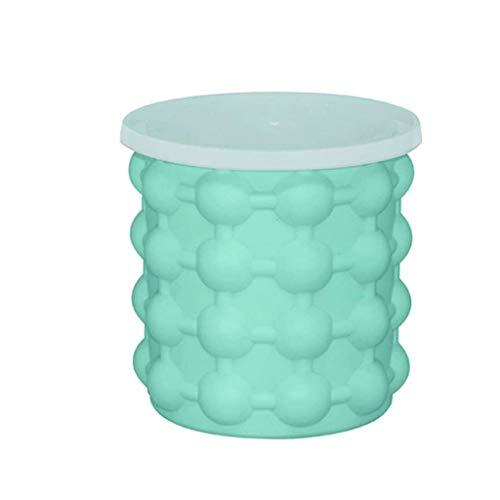 NXYJD Cubos de Hielo del silicón, Vino Cubo del fabricador de Hielo congelado del Molde del Cubo de Hielo al Aire Libre Helado Bebidas Aislamiento de Hielo Cubo de Almacenamiento
