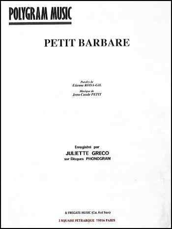 PETIT BARBARE