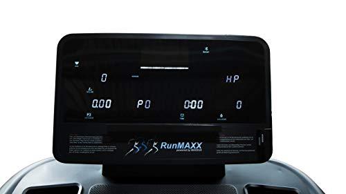 Laufband MAXXUS RunMaxx 9.1 mit APP-Steuerung, klappbarer Lauffläche, Dämpfung, 20km/h, 3PS, Lauffläche 154x55cm
