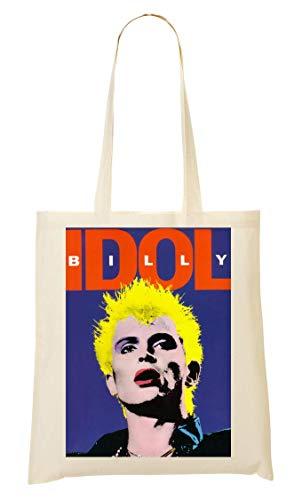 Wicked Design Billy Idol Album Cover Artwork Tragetasche Einkaufstasche