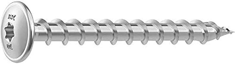 Heco schrauben hecotopix Tornillo 1//2 torx cabeza plana 8x80