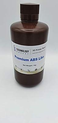 Technology Outlet Premium 3d Printer Abs-like Resin (solid Black 1ltr)