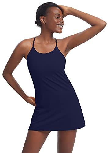 Women's Workout Dress, Sleeveles...