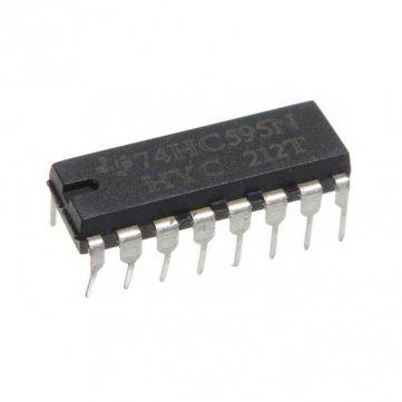Hohe Qualität Nacht25pcs SN74HC595N 74HC595 74HC595N HC595 DIP -16- 8-Bit- Schieberegister IC