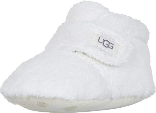 UGG Kids' Bixbee and Lovey Ankle Boot, Vanilla, 2/3