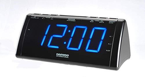 Daewoo Radio Despertador con Proyector LCD 222932 USB