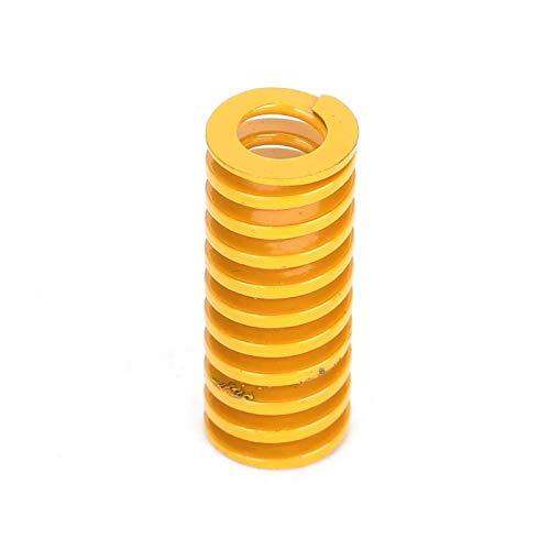 Socobeta Resorte de Cama Caliente Conveniente Compacto Resorte Superior Plano Acero de aleación Importado Estable y Duradero para Impresora 3D