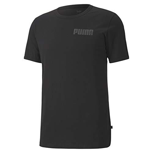 PUMA Herren Modern Basics Tee T-Shirt, Black, L