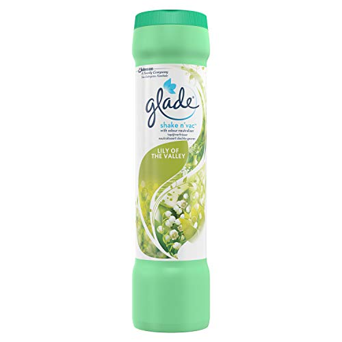 Glade Shake n 'Vac, Teppich-Duftspender-Lily of the Valley, 500g, 1 er Pack