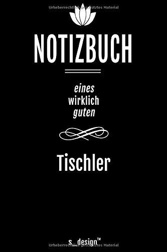 Notizbuch für Tischler: Originelle Geschenk-Idee [120 Seiten liniertes DIN A6 blanko Papier]