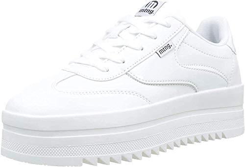 MTNG Attitude 69550, Zapatillas para Mujer, Blanco (Action PU Blanco/Pattent Blanco C45200), 40 EU