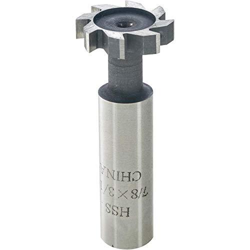 1//4 Width 1-3//4 Diameter F/&D Tool Company 70098 Large Diameter Woodruff Keyseat Cutter 1//2 Shank