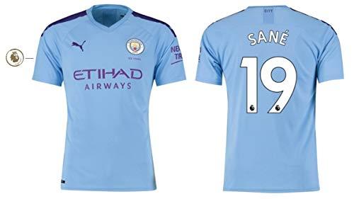 Manchester City Trikot Kinder 2019-2020 Home PL - Sane 19 (164)