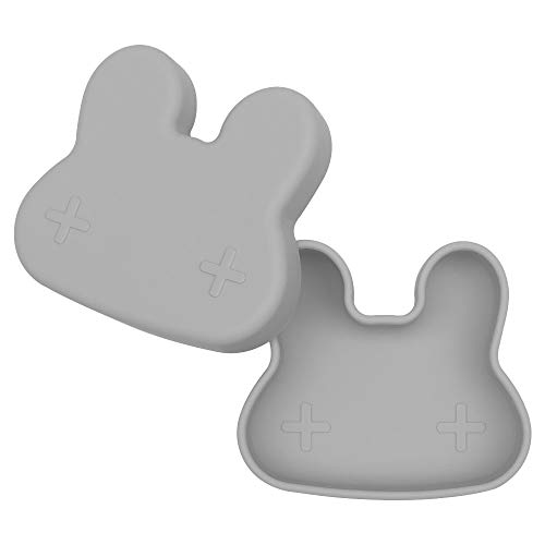 Petite boîte à goûter Lapin gris foncé - We might be tiny