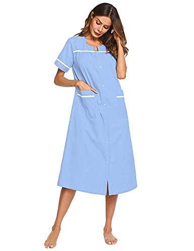Women's Sleepwear Snap Front Robes