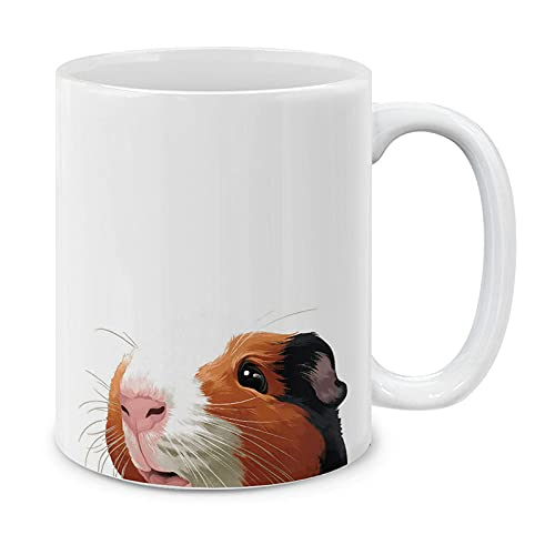 MUGBREW Cute Guinea Pig Ceramic Coffee or Tea Mug