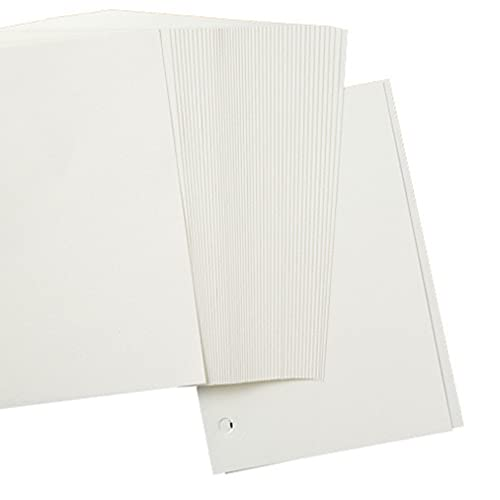 60 vellen A5 Refill Paper, 8×5.6 inch Hervulbaar Papier 6 Hole Filler Inserts Losse Blad Papier voor 6 Ring Binder…